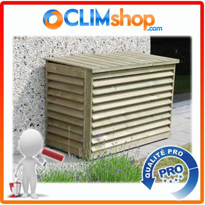 cache climatisation bois cover split pin sylvestre. Black Bedroom Furniture Sets. Home Design Ideas