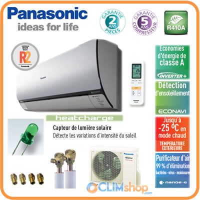 climatisation panasonic kit ve12 nke inverter pr t poser. Black Bedroom Furniture Sets. Home Design Ideas