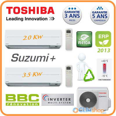 clim bi split toshiba inverter ras m18uav e. Black Bedroom Furniture Sets. Home Design Ideas