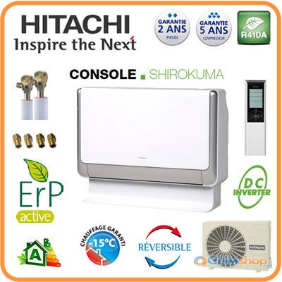 pompe chaleur air air hitachi raf 35pxa et rac 35fxa. Black Bedroom Furniture Sets. Home Design Ideas