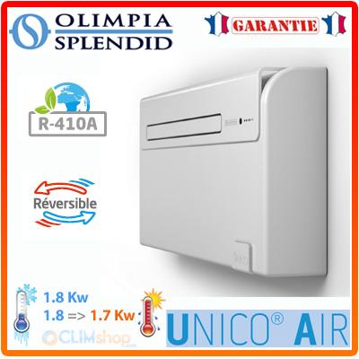 climatiseur sans unit ext rieure unico air int gr 8sf et. Black Bedroom Furniture Sets. Home Design Ideas
