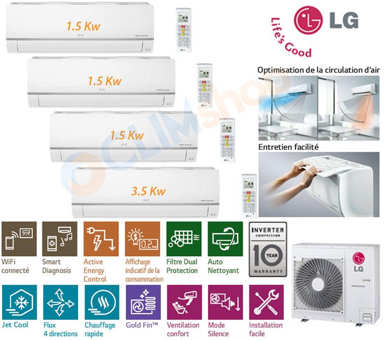 Présentation LG MU4M27.U44 - PM05SP.NSJ - PM12SP.NSJ