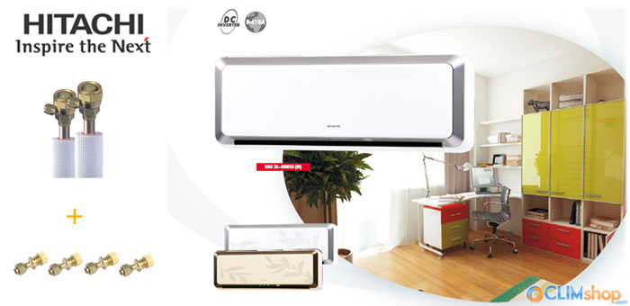 climshop climatisation reversible inverter hitachi pas cher. Black Bedroom Furniture Sets. Home Design Ideas