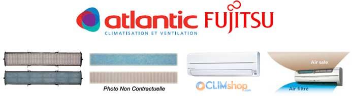 filtre climatiseur atlantic fujitsu unit int rieure murale. Black Bedroom Furniture Sets. Home Design Ideas