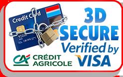 Paiement sécurisé 3d secure climshop.com