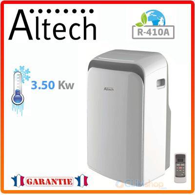 climatiseur mobile monobloc altech atp035s12 froid seul 3500 w. Black Bedroom Furniture Sets. Home Design Ideas