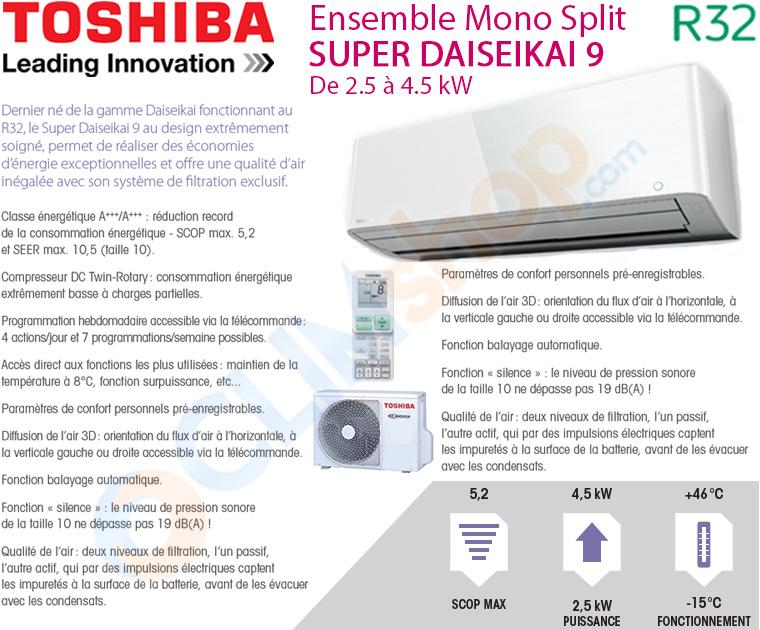 Présentation Super Daiseikai 9 R32 Toshiba