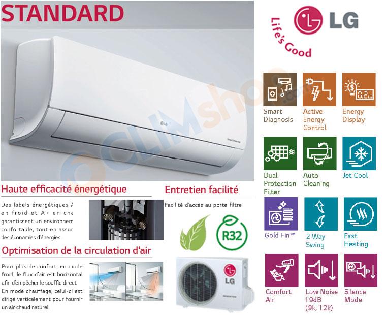 Présentation gamme Standard LG R32