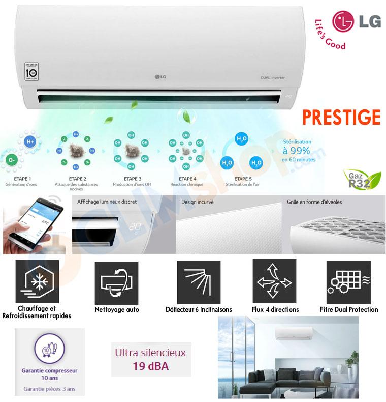 Description LG PRESTIGE R32