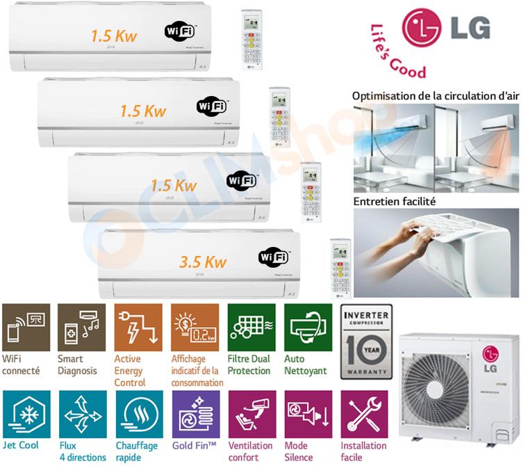 Présentation LG MU4R27.U40 - PM05SP.NSJ - PM12SP.NSJ