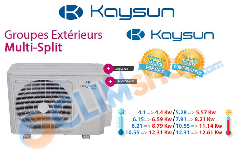 Unités extérieures multi-split Kaysun