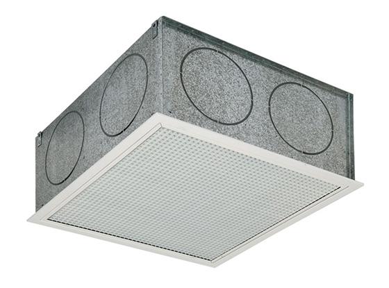 Boîte à bouche grille de reprise climatisation gainable
