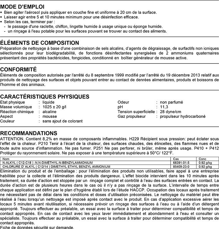 Virunet MODE D'EMPLOI / CARACTÉRISTIQUES PHYSIQUES / RECOMMANDATIONS
