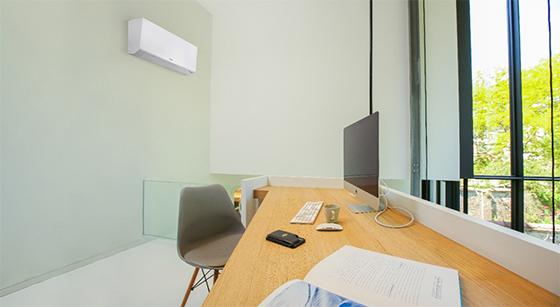 Mural climatiseur pour pour commerces, bureaux et grands volumes