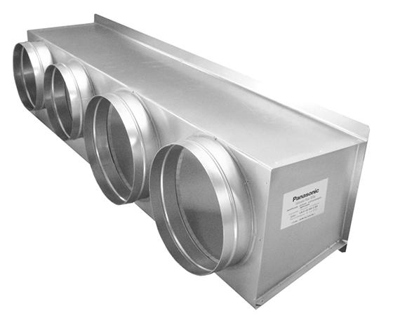 Plénum soufflage climatisation gainable